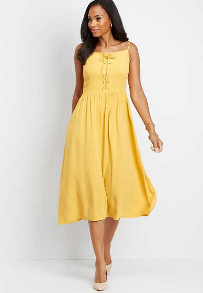 6d355543aead3 Dresses | Fit And Flare, Maxi, And Work Dresses | maurices