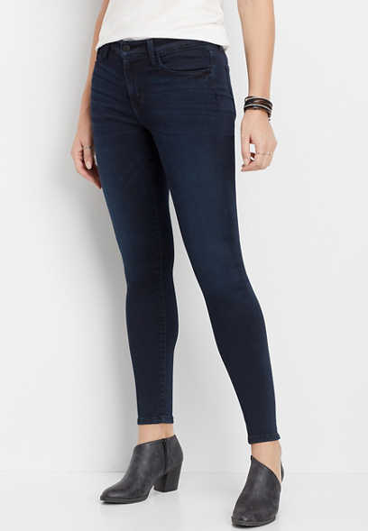 Flying Monkey™ dark super soft skinny jean