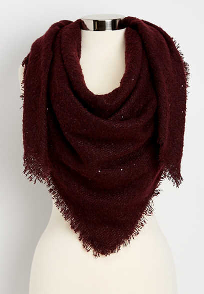 sequin square scarf