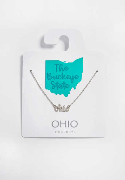 Dainty Ohio Necklace