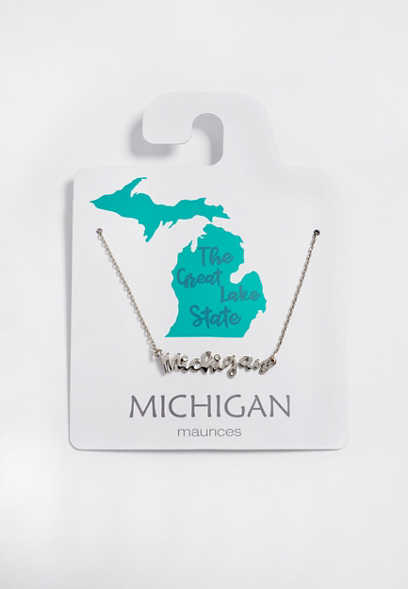 Dainty Michigan Necklace