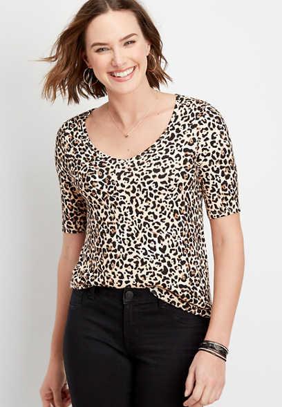 24/7 Flawless leopard tee