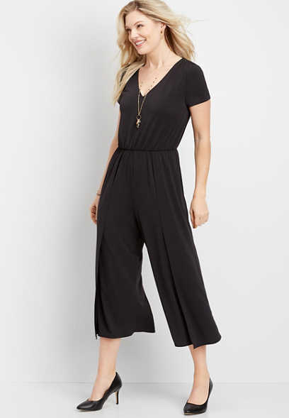 split leg jumpsuit