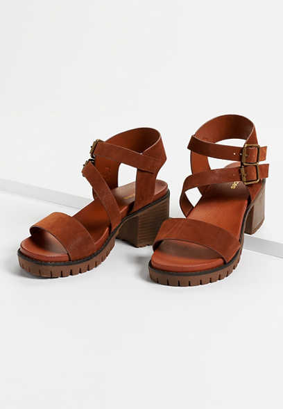 Holly chunky block heel sandal
