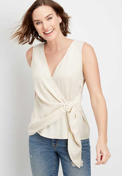 wrap front ring tank