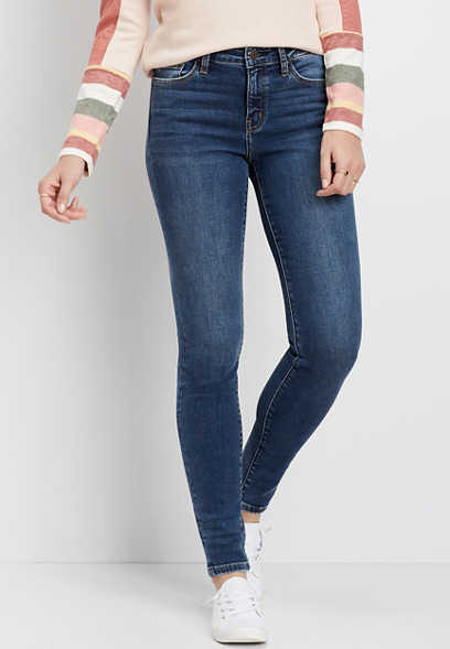 Flying Monkey™ Dark Wash Skinny Jean