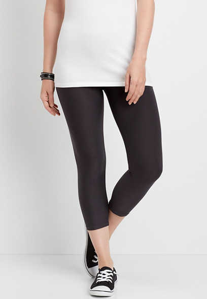 high rise ultra soft capri legging