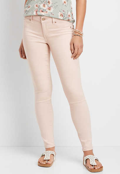 DenimFlex™ pink foam color jegging