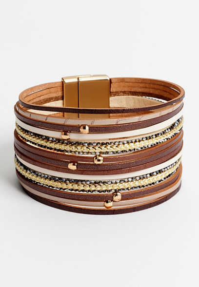 multi row magnetic bracelet
