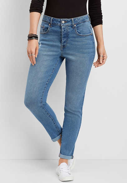 DenimFlex™ vintage mom jean