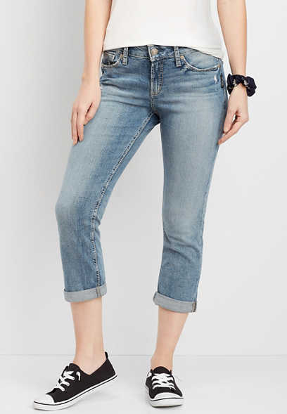 Silver Jeans Co.® Suki Medium Wash Capri