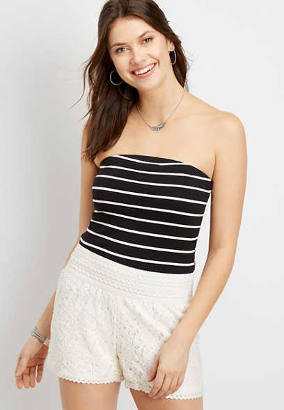 24/7 stripe tube top
