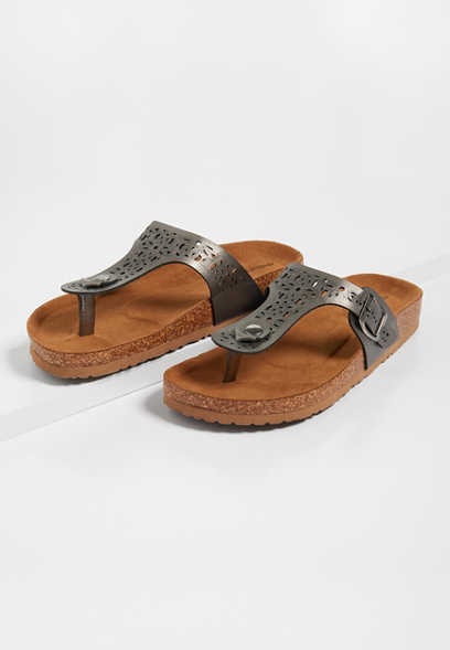 Penny Cut Out Sandal