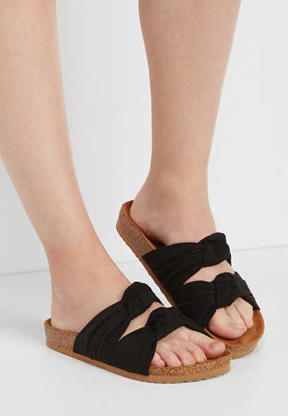 Pearl Double Knot Sandal