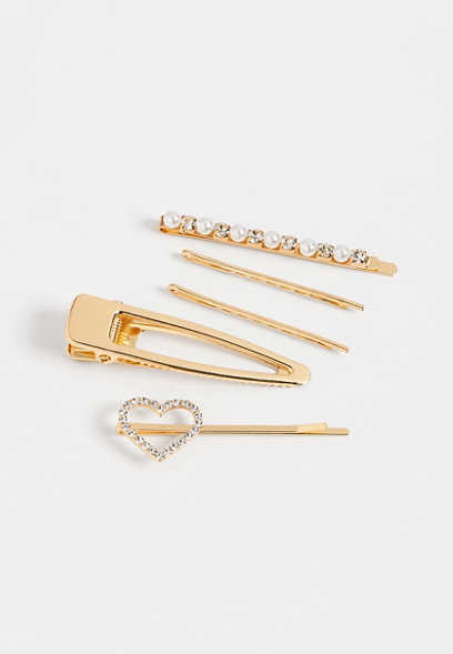 5 piece bobby pin set