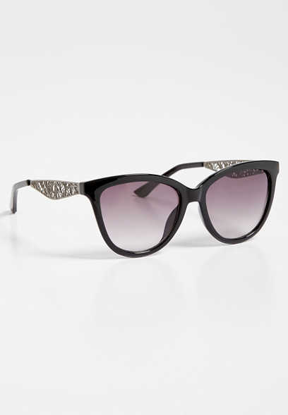 filigree side sunglasses