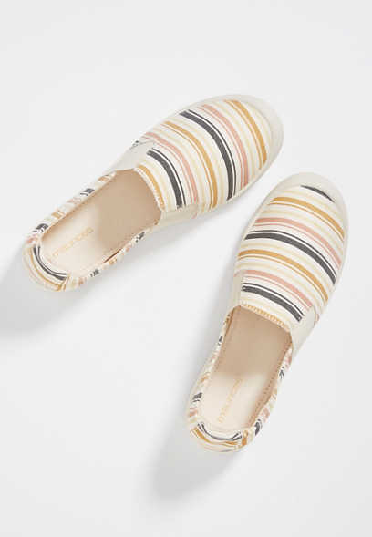 Laura Stripe Slip On Sneaker