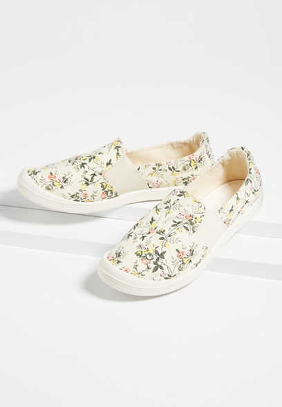 Laura Floral Slip On Sneaker
