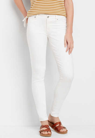 DenimFlex™ white color jegging