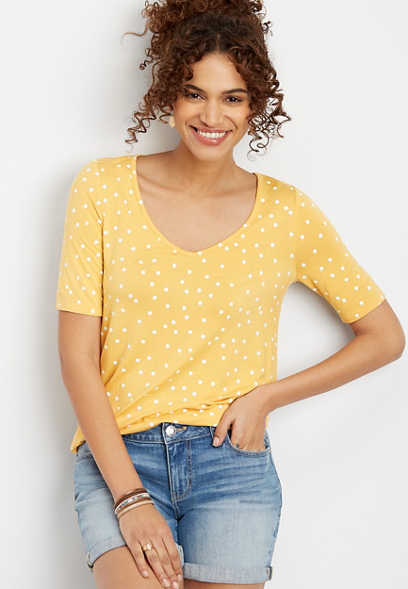 24/7 Flawless Polka Dots Tee