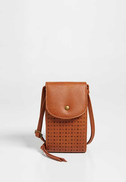 Perforated Crossbody Bag