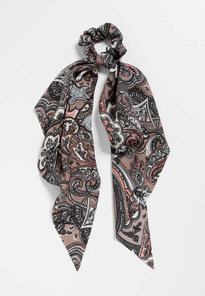 Paisley Scarf Scrunchie