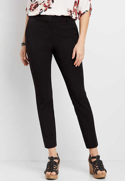Skinny Ankle Pant With 4-Way Stretch