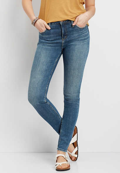 Silver Jeans Co.® High Note High Rise Dark Wash Skinny Jean