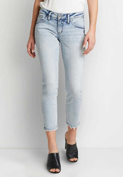 Silver Jeans Co.® Light Acid Wash Boyfriend Jean