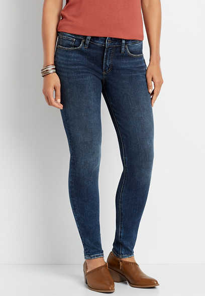 Silver Jeans Co.® Suki Dark Wash Skinny Jean