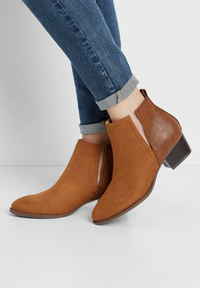 Alora Low Cut Side Ankle Bootie