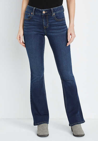 m jeans by maurices™ Dark Wash Flare Leg Jean