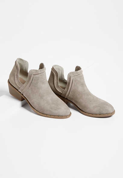 Athena Low Side Ankle Bootie