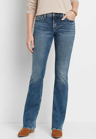 Silver Jeans Co.® Avery High Rise Medium Wash Slim Boot Jean