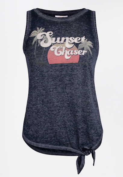 Sunset Chaser Graphic Tank Top