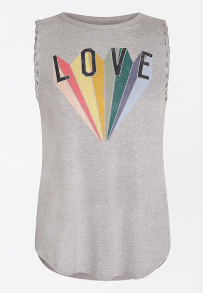 Pride Love Graphic Tank Top