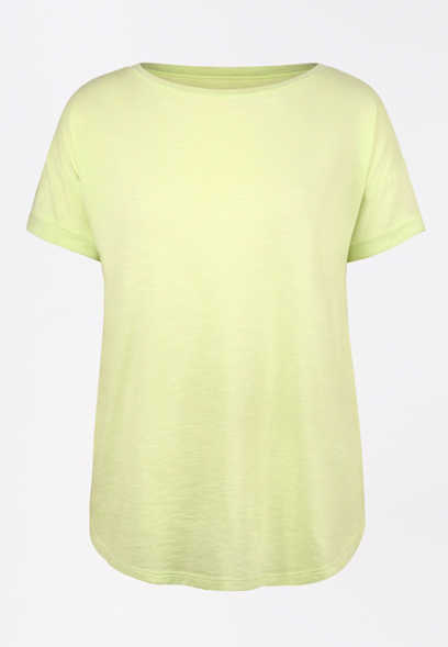 24/7 Lime Drop Shoulder Tee