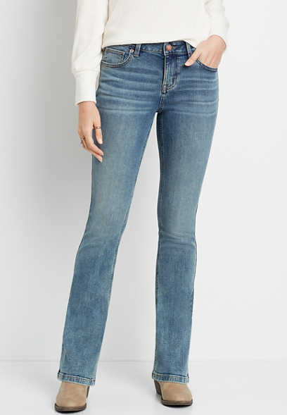 m jeans by maurices™ Medium Wash Bootcut Jean