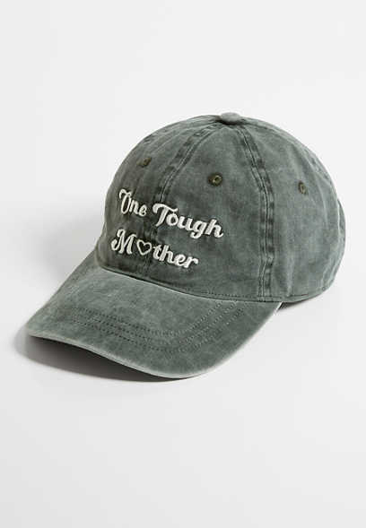 Olive One Tough Mother Baseball Hat