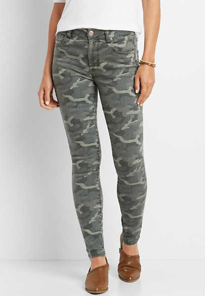 DenimFlex™ High Rise Camo Print Jegging