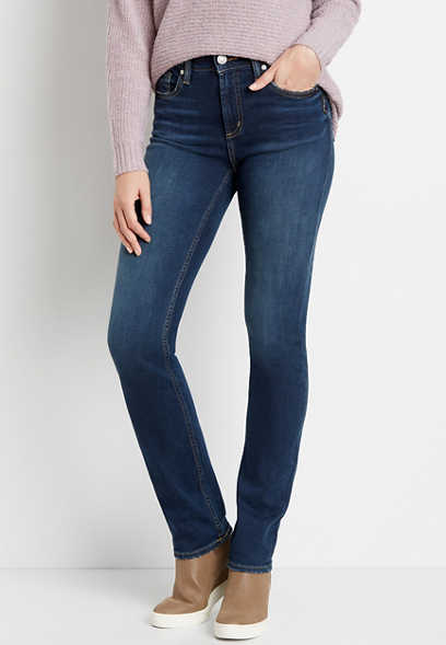 Silver Jeans Co.® Avery High Rise Dark Straight Leg Jean