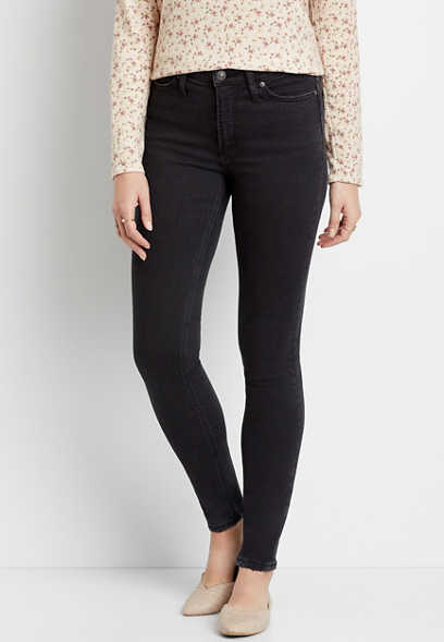 Silver Jeans Co.® High Note High Rise Black Skinny Jean