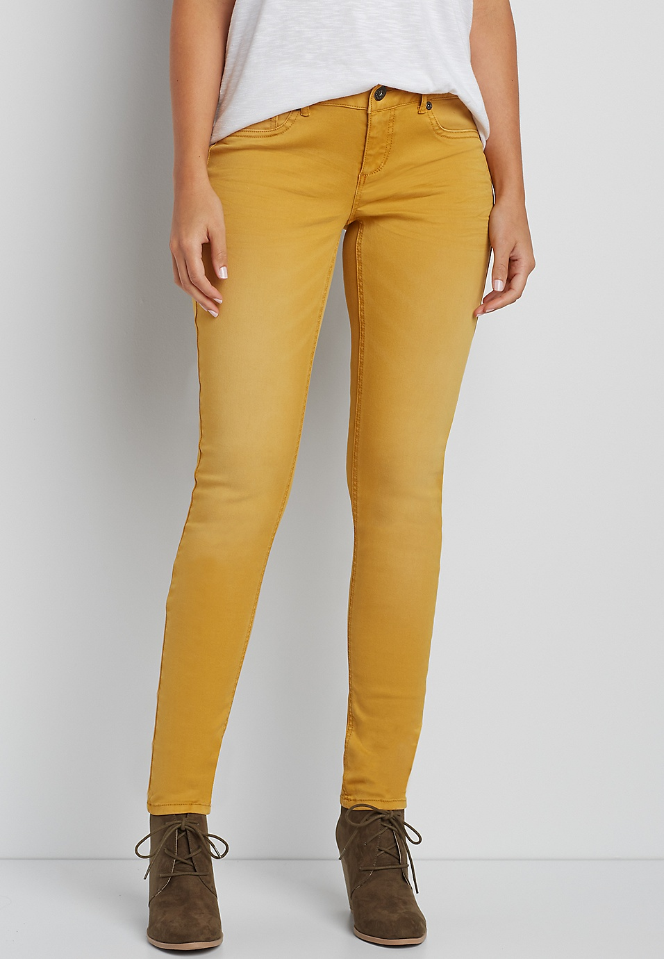27d4159b1d3 DenimFlex™ jegging in autumn gold