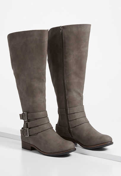 Eva Buckle Wrap Tall Boot