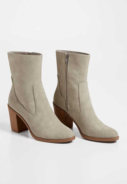 Addison Mid Ankle Bootie