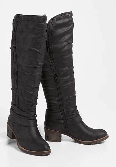 Eden Ankle Wrap Tall Boot