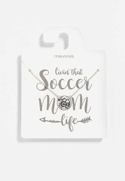 Dainty Soccer Necklace