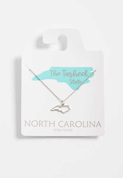 Dainty North Carolina Necklace
