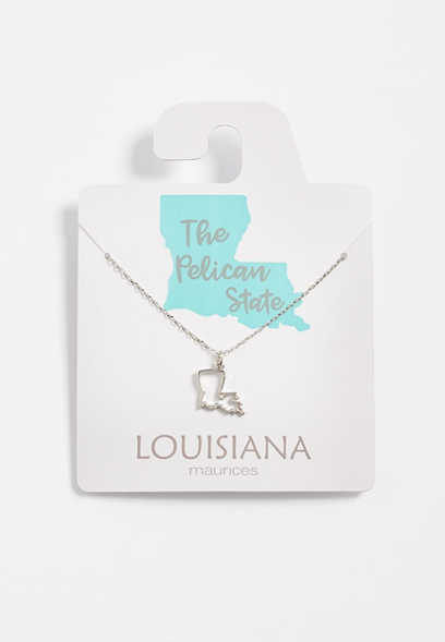 Dainty Louisiana Necklace
