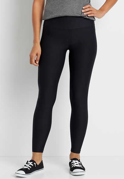 High Rise Black Sculpt Legging